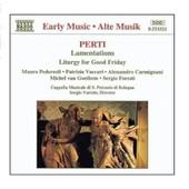 Lamentations, Liturgie Du Vendredi Saint Soli - Giacomo Antonio Perti