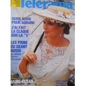 T�l�rama 1892 - Marie Christine Barrault, S�rie Noire Pour Godard, Maine Oc�an De Jacques Rozier