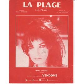 """Marie Laforêt """"La Plage"""""""