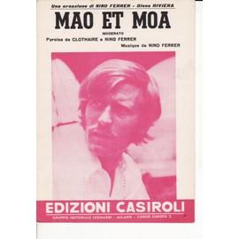 """partition italienne Nino Ferrer """"Mao et Moa"""""""