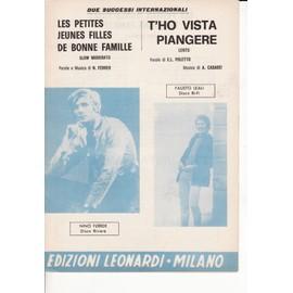 "partition italienne Nino Ferrer "" Les petites filles..."""