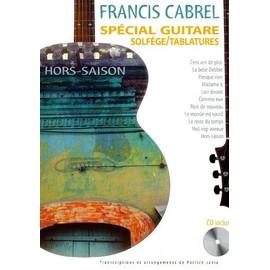 francis cabrel special guitare Francis Cabrel - Hors - saison