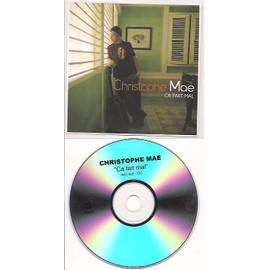 cds 1 titre christophe mae ca fait mal radio edit 3'00 (1ère partie de johnny hallyday)