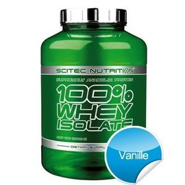 Scitec Nutrition 100% Whey Isolate - 2000 G - Vanille