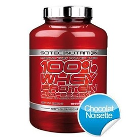 Scitec Nutrition 100% Whey Protein Professional - 2350 G - Chocolat Noisette