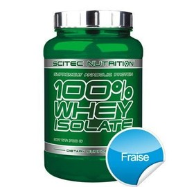 Scitec Nutrition 100% Whey Isolate - 700 G - Fraise