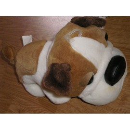 Peluche Doudou The Dog Artlist Collection Chien Hund Bulldog 28 Cm Caramel