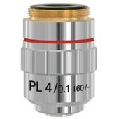 Bresser - Objectif Din Plan Achromatique Pl 4x Pour Microscope