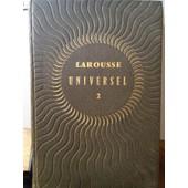 Nouveau Larousse Universel - Dictionnaire Encyclop�dique En Deux Volumes de Auge Paul Sous La Direction De