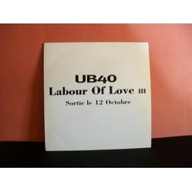 "UB40 ""labour of love 3"" CD"