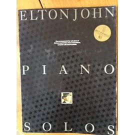 Elton John piano solos