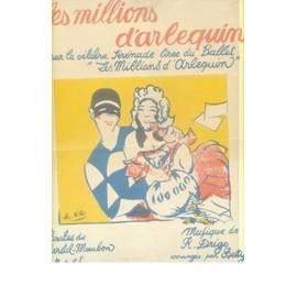 LES MILLIONS D'ARLEQUIN