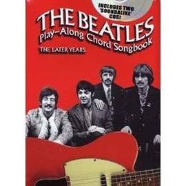 BEATLES PLAY ALONG CHORD SONGBOOK THE LATER YEARS CD