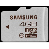 Carte Micro Sd 4 Go Origine Samsung + Adaptateur Sd