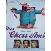 Plaquette 4 Pages : Mes Chers Amis Film De Mario Monicelli