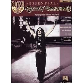 GUITAR PLAY ALONG VOL.070 ESSENTIAL OZZY OSBOURNE TAB + CD