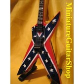Guitare Miniature Dean Dimebag Darrell The Dixie Rebel