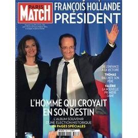 Paris Match 3286 Fran�ois Hollande Pr�sident