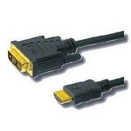 CONNECTLAND - C�BLE DVI-D SIMPLE M�LE HDMI M