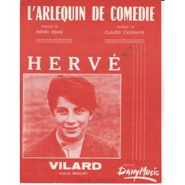 """Hervé VILARD """"L'arlequin de comédie"""""""