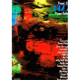 FRONT LINE JAZZ PIANO SOLOS 2 PARTITION SONG BOOK KEITH JARRETT. JOHN LEWIS. NAT KING COLE. COUNT BASIE. THELONIOUS MONK. BILL EVANS. ART TATUM. MORTON. FLANAGAN