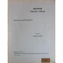 Second Clarinet Album - Pamela Weston - Clarinet and pianoforte