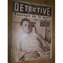 D�tective N� 417 : Rescap� De La Mort : Robert Vandepute Revit Sur Son Lit D'hopital A Montfermeil, La Trag�die De Clichy Sous Bois