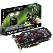 Asus GeForce GTX 560 Ti DirectCU II - Carte graphique