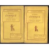 Ethique, Demontree Suivant L'ordre Geometrique Et Divisee En 5 Parties, 2 Tomes de Spinoza