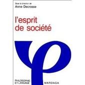 L'esprit De Societe de Decrosse