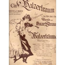 "Walzertraüme - Valses pour piano d'après l'opérette ""Ein Walzertraum"" d'Oskar Strauss"