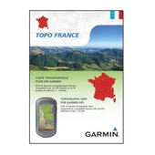 GARMIN CARTE DE RANDONN�E TOPO FRANCE ENTI�RE