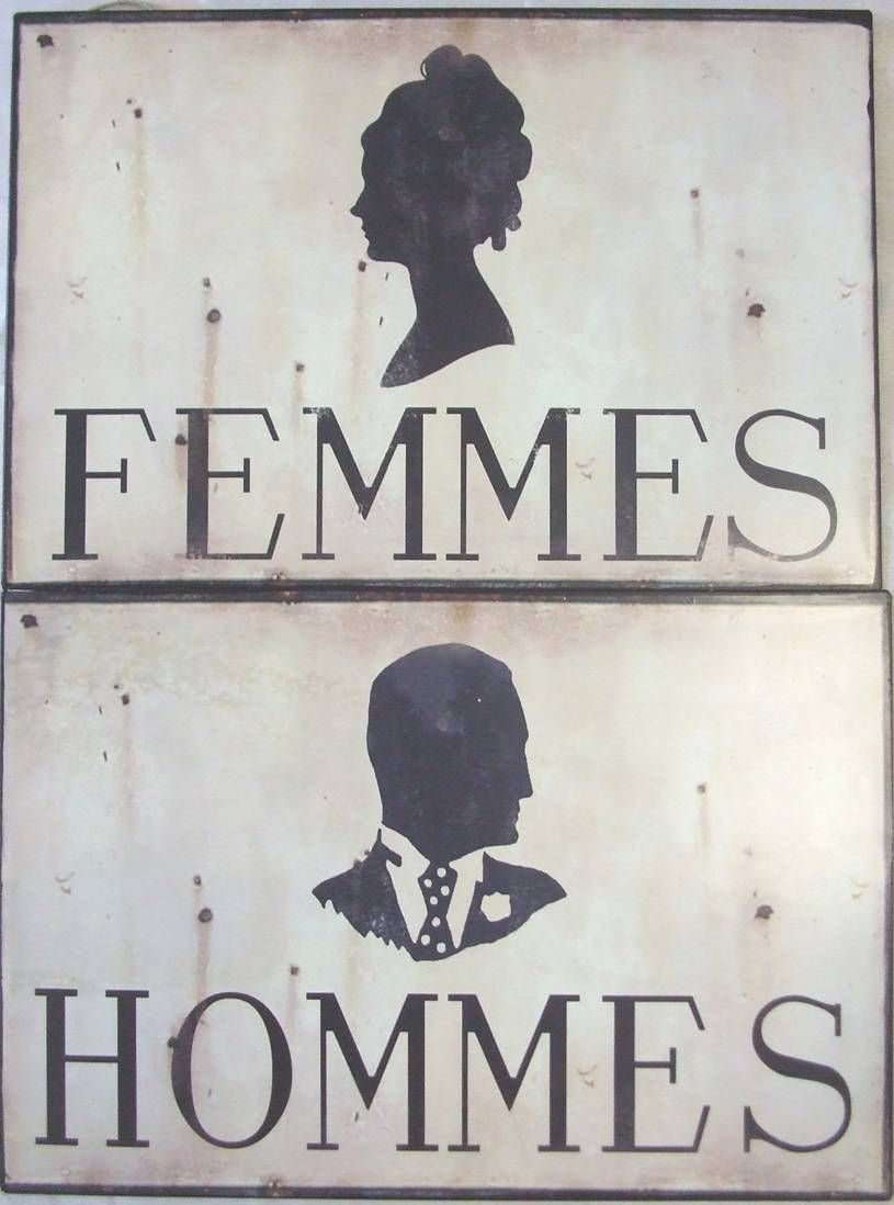 2 Plaque Pub Decorative En Metal Fer Style Emaille Retro Lhéritier Du Temps
