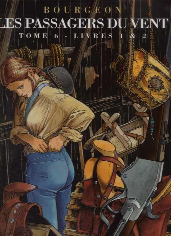 Les passagers du vent, intégrale des tomes 1 à 6, en 3 volumes