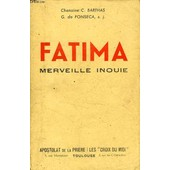 Fatima, Merveille Inouie de BARTHAS CHAN. C.