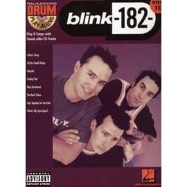 DRUM PLAY ALONG VOL.10 BLINK-182 + CD