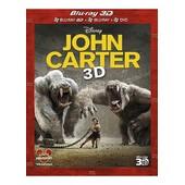 John Carter - Combo Blu-Ray3d + Blu-Ray+ Dvd de Andrew Stanton