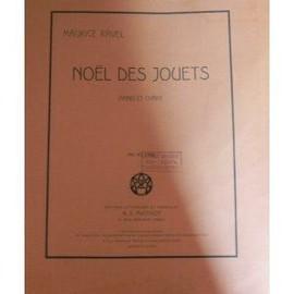 Noël des Jouets - piano et chant - Ravel