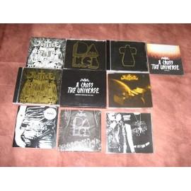 Lot rare CD maxi/single/album et t-shirts de JUSTICE