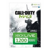 Xbox Live 1200 Microsoft Points Call Of Duty : Modern Warfare 3
