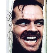 Jack Nicholson - Shining - Photo Dedicacee