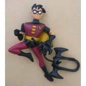 Figurine Robin De Batman , Avec Cordon Et Attache