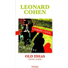 LEONARD COHEN PLAQUETTE PLV OLD IDEAS