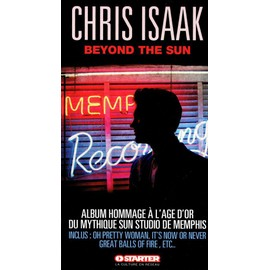 CHRIS ISAAK PLAQUETTE PLV BEYOND THE SUN