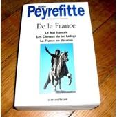 De La France de Alain Peyrefitte