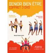 Senior Bien-�tre : Coffret 3 Dvd - Pack de Catherine Derenne