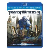 Transformers 3 - La Face Cach�e De La Lune - Combo Blu-Ray3d + Blu-Ray+ Dvd + Copie Digitale de Michael Bay