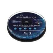MediaRange Inkjet Fullsurface-Printable - 10 x BD-R