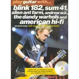 PLAY GUITAR WITH BLINK 182, SUM41...TAB + CD