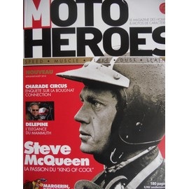 Moto Heroes 1 - Charade Circus, Steve Mc Queen, Delepine, Margerin, Debarre